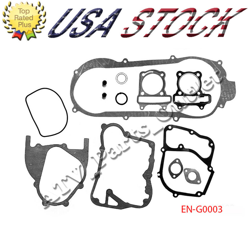 gy6 150cc scooter moped atv go kart engine gasket set