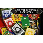 Reversed Back Bicycle Deck - All Colours - Playing Cards - New