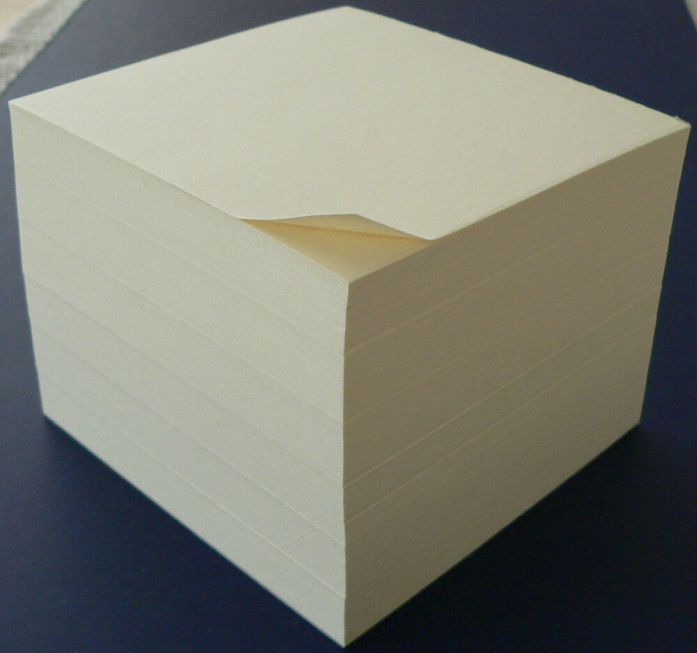 Note Paper Cube