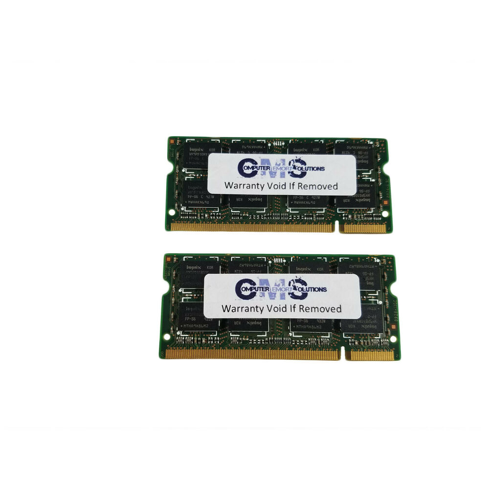 2gb 2x1gb Ram Memory 4 Ibm Lenovo Thinkpad R50e Notebook