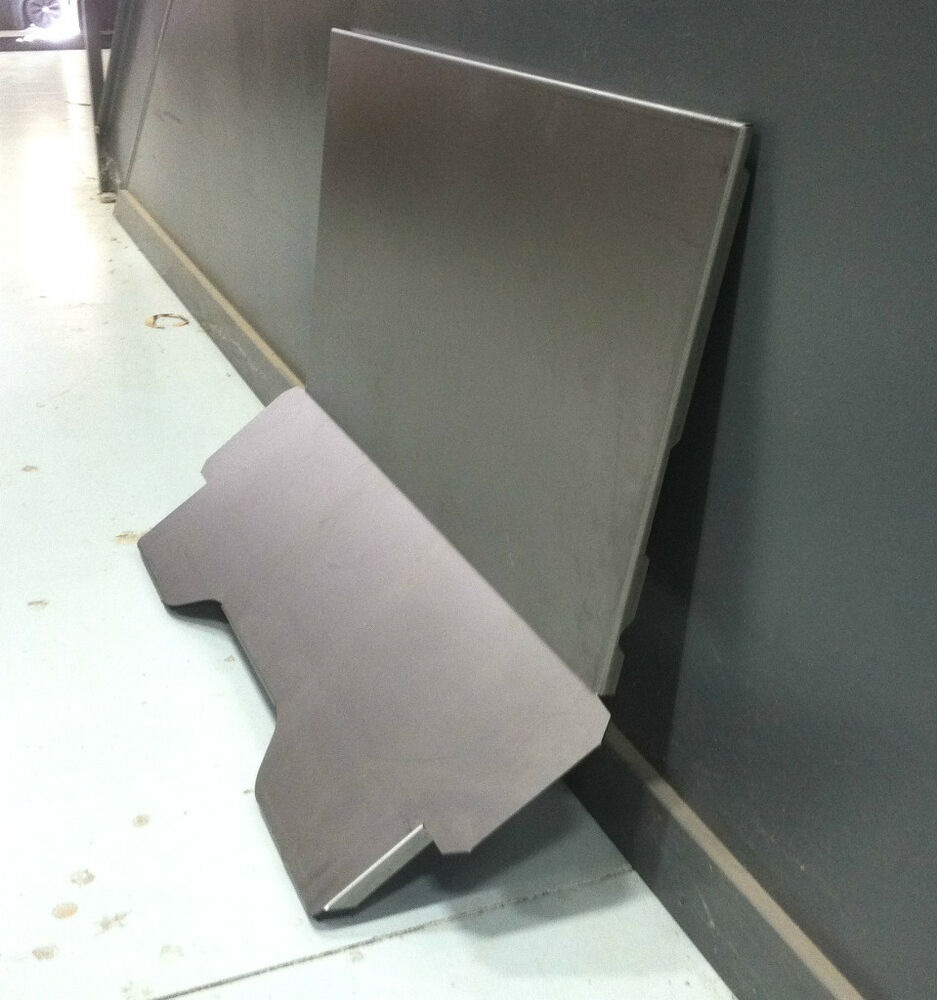Ford 3 Window Coupe Steel Front Floor For Stock Firewall 32 1932 Ebay