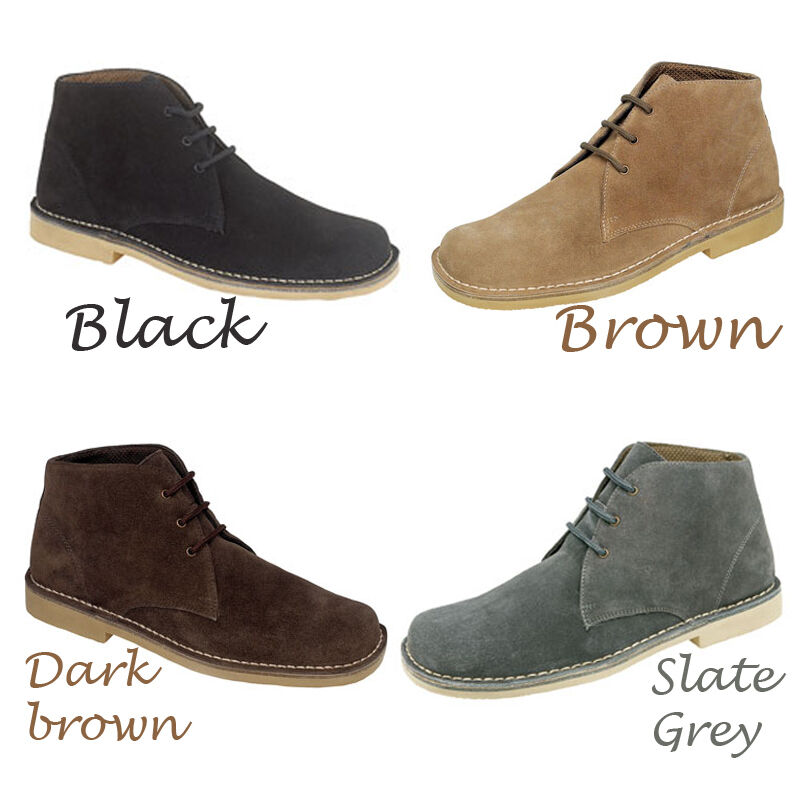 Gents Wide Fitting Shoes