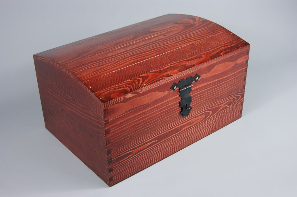 laquered x large treasure chest wooden box memory box. Black Bedroom Furniture Sets. Home Design Ideas