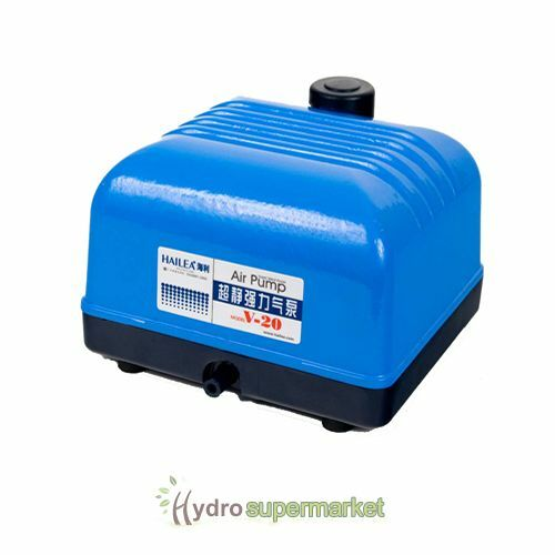 Hailea V20 20l Min 4 Way Air Pump Pond Hydroponics Fish Ebay