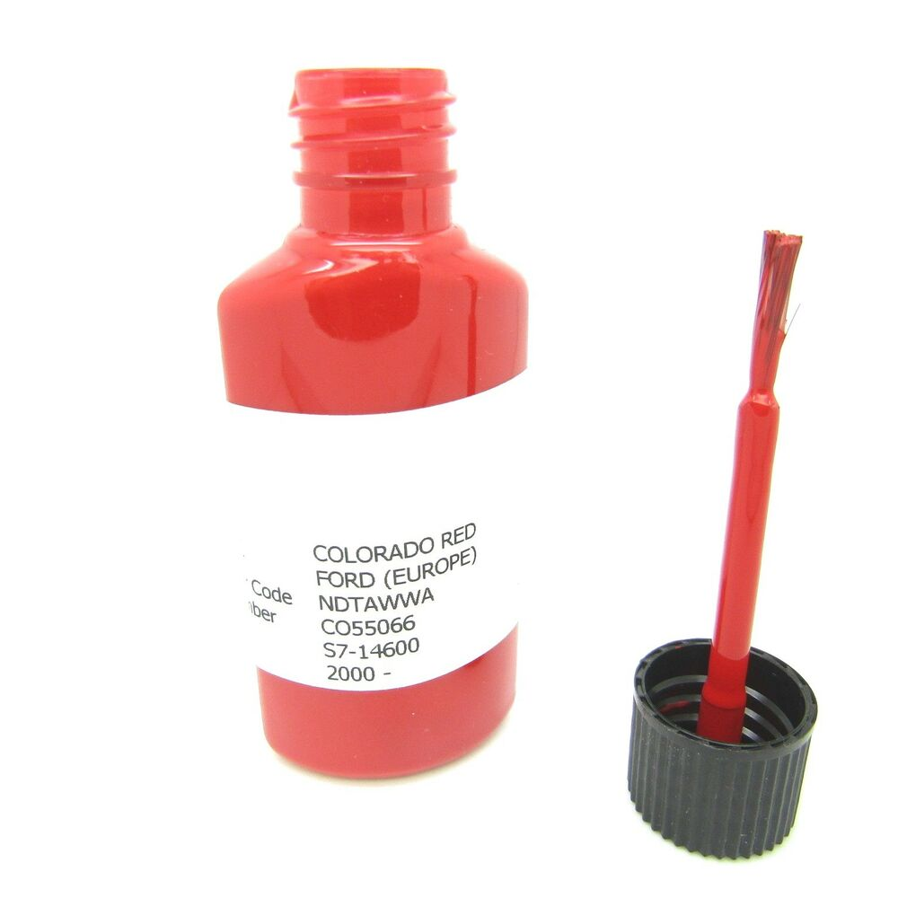 Details About Ford Colorado Red Touch Up Paint 15ml Fiesta Focus Mondeo Ka Transit