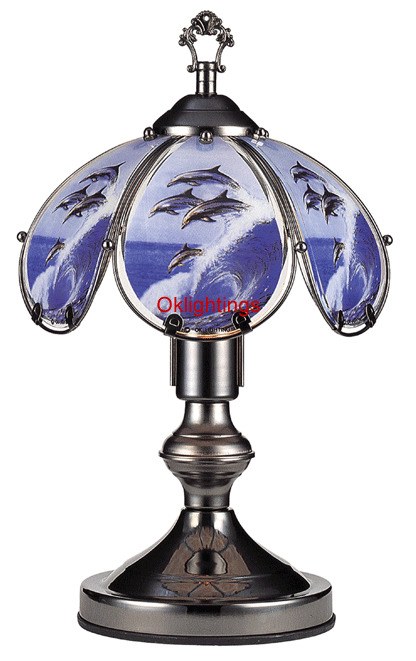 Dolphin Touch Lamp 14 Inch Ebay