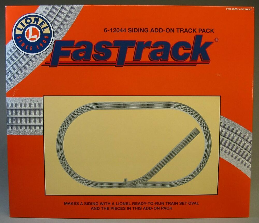Lionel Fastrack Lot Track Pack Siding Switch Train Fast 6