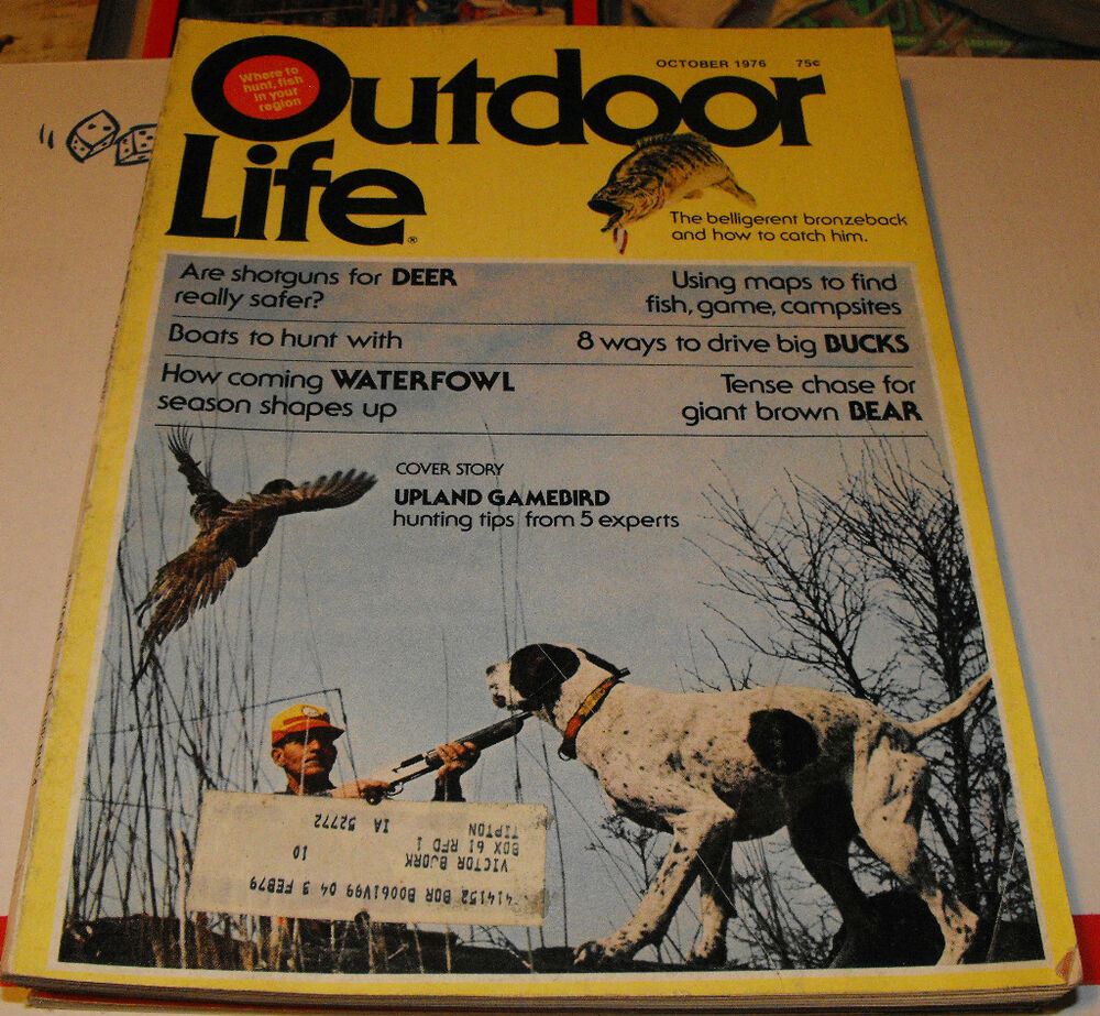 Outdoor life hunting and fishing magazine belligerent for Hunting and fishing magazine