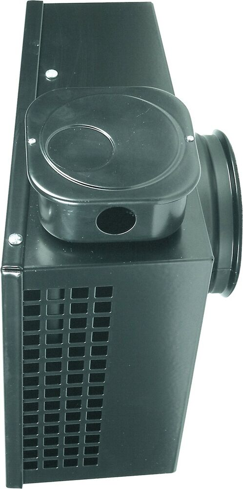 Kitchen hood fan 6 375 cfm 39 s outside wall mounted ventilation for low noise ebay for Exterior mounted exhaust fans for bathroom