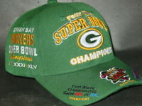 Green Bay Packers 4X Time Super Bowl Champions Hat