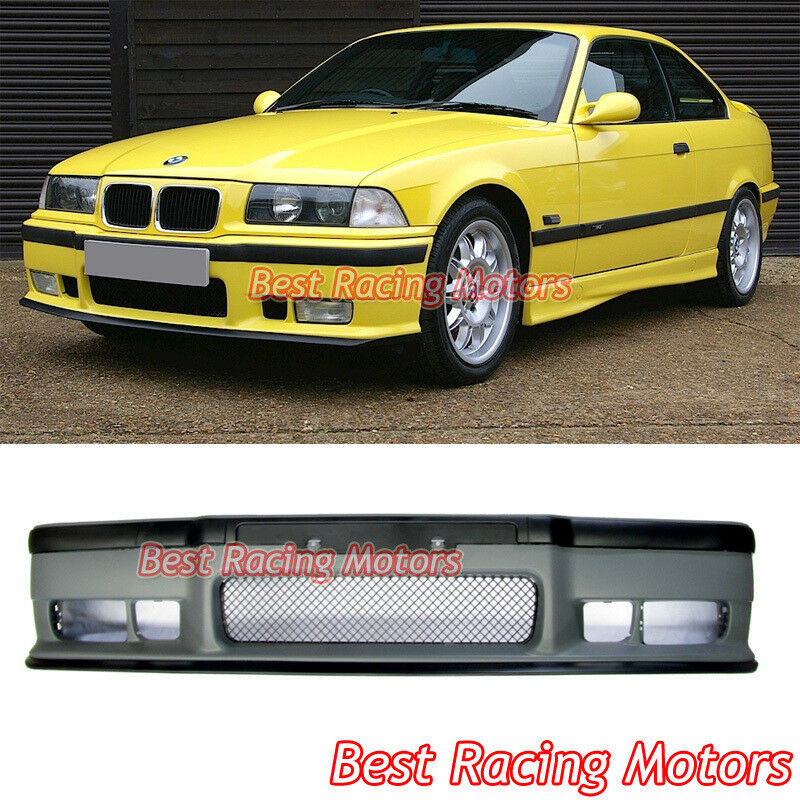 m style front bumper cover pp fits 91 99 bmw e36 3. Black Bedroom Furniture Sets. Home Design Ideas