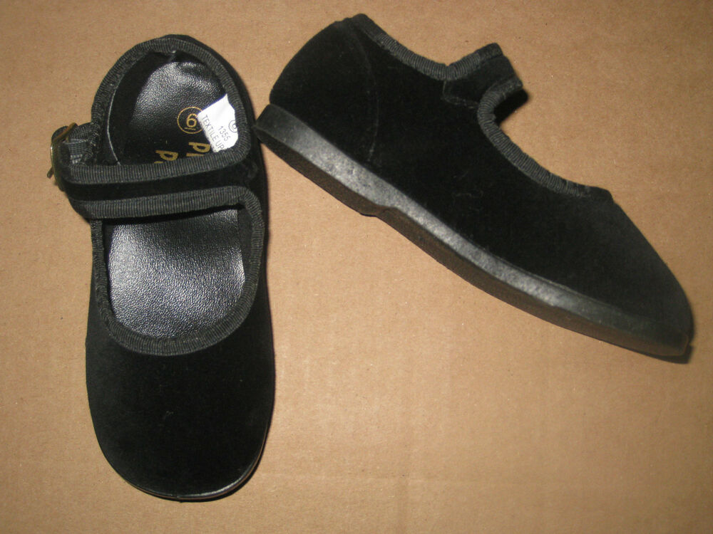 Baby Girl Black Dressy Shoes
