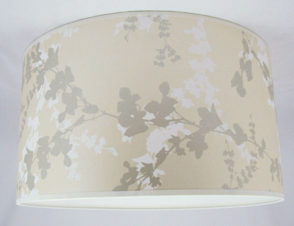 8 lampshade handmade in uk laura ashley hawthorn pale bamboo wallpaper ebay. Black Bedroom Furniture Sets. Home Design Ideas