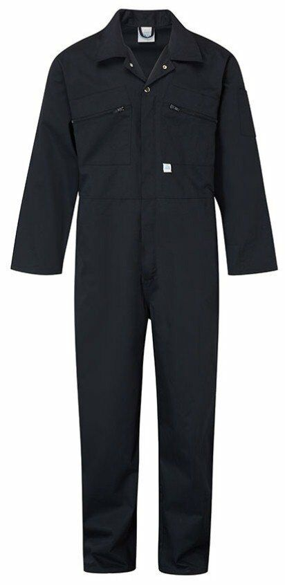 Mens Blue Castle Zip Front Boiler Suit Overall Coverall ...