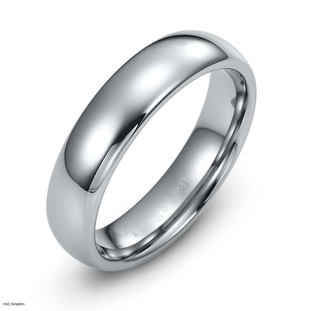 mens tungsten carbide ring wedding band sizes 7 12 ebay