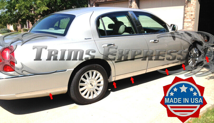 Bodu Parts For A  Lincoln Town Car