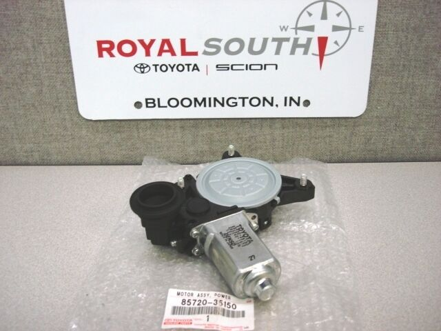 Toyota 4runner 2003 2009 Rear Back Window Motor Genuine