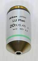 Nikon CFI LU Plan EPI 20X Microscope Objective -New