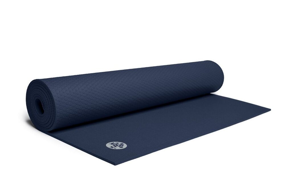Manduka Midnight Blue Prolite 4 5mm Yoga Mat New 71 Quot X 24