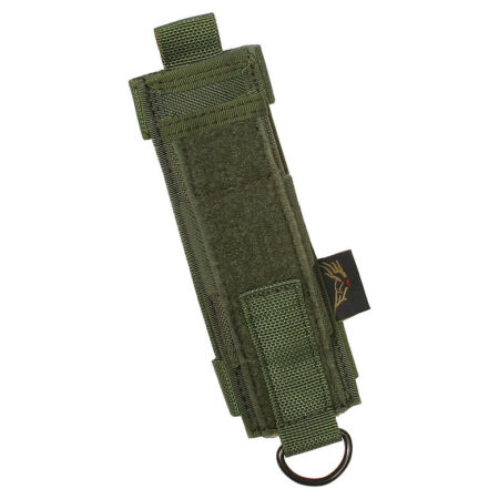 img-FLYYE ARMY TACTICAL BELT BATON HOLDER MOLLE SYSTEM SECURITY CASE RANGER GREEN