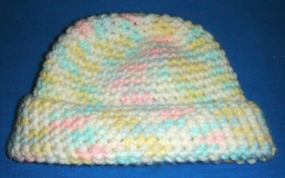Crochet Baby Hat Patterns 6 Months : Baby Hat Pattern in Single Crochet for Babies 3 - 6 Months ...