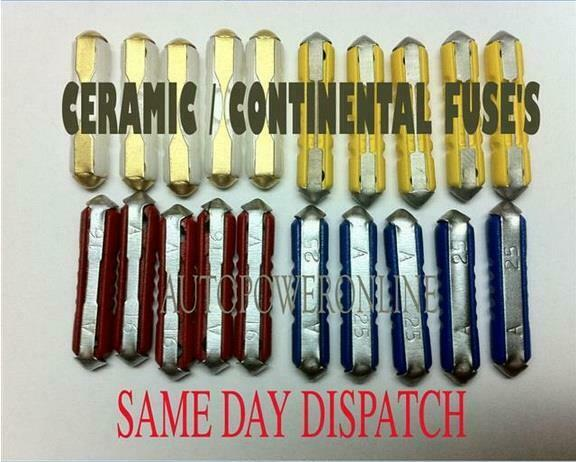 ceramic style continental fuse for old style classic car