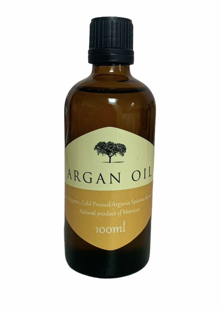pure organic moroccan argan oil 100ml for hair skin and. Black Bedroom Furniture Sets. Home Design Ideas