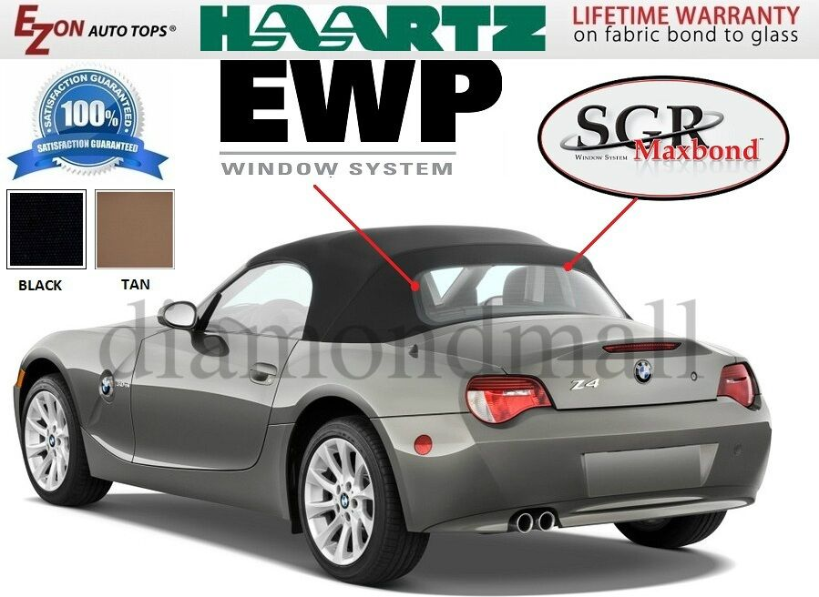Bmw Z4 2003 2009 Convertible Top Replacement With