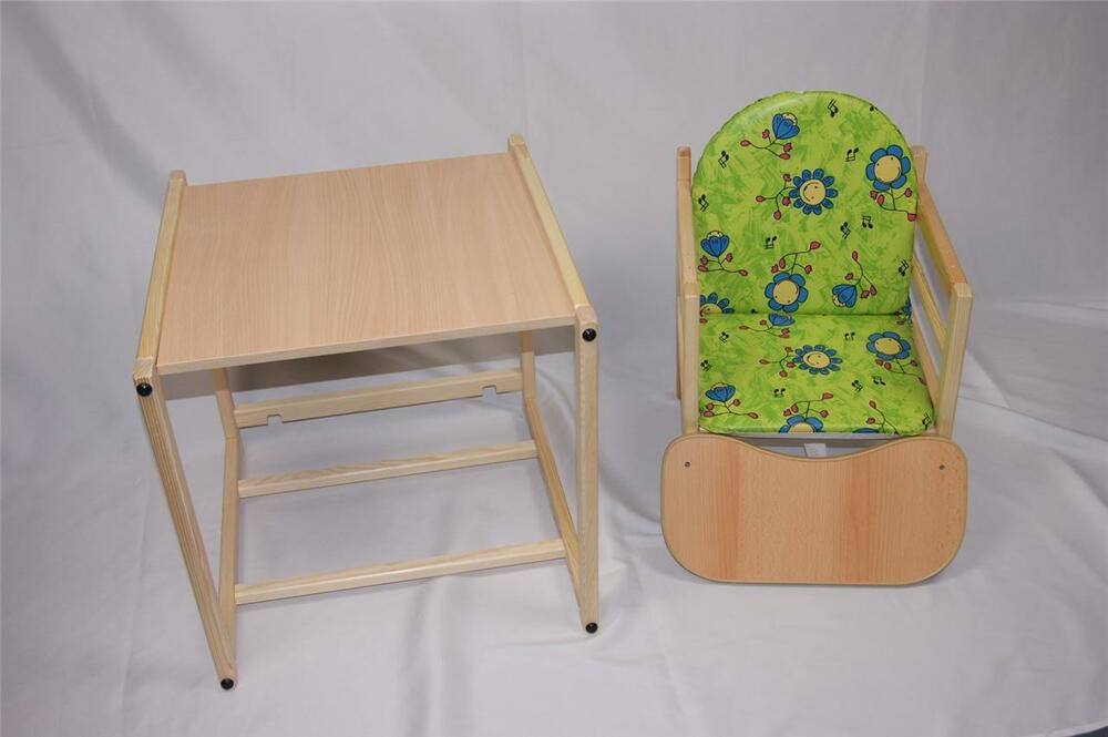 Feed me now Wooden High Chair Toddler Child s Table