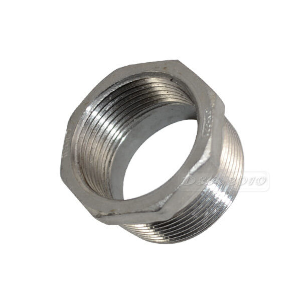Quot male female stainless steel thread reducer