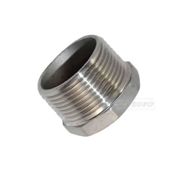 1 1 2 Quot Male X 3 4 Quot Female Stainless Steel Threaded Reducer