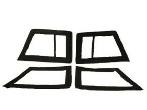 set of 4 vw thing side window curtains for use w