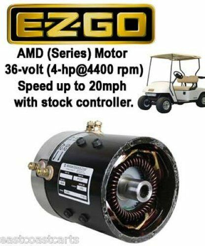 Ezgo 36 Volt Series Golf Cart High Speed Motor  20mph With