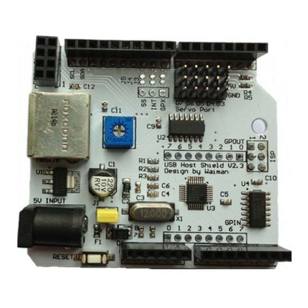 Adk shield module for android rev arduino compatible