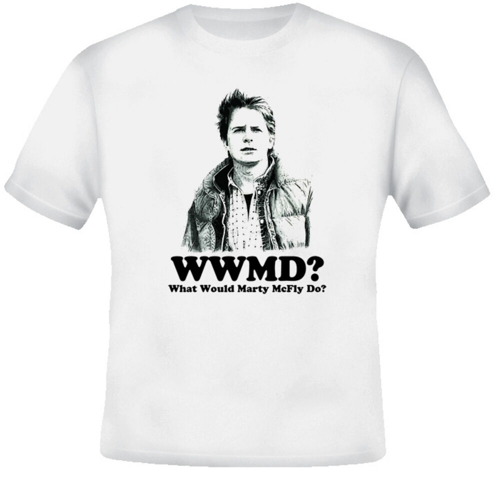 What would marty mcfly do back to the future t shirt ebay