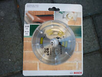 bosch 115mm diamond blade for concrete and brick.