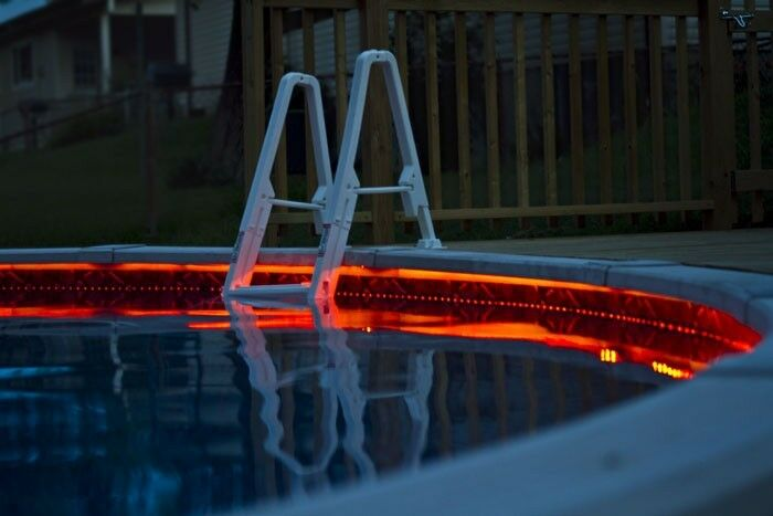 Pool Outdoor WaterProof LED Tape Lighting Strip SMD 3528 ...