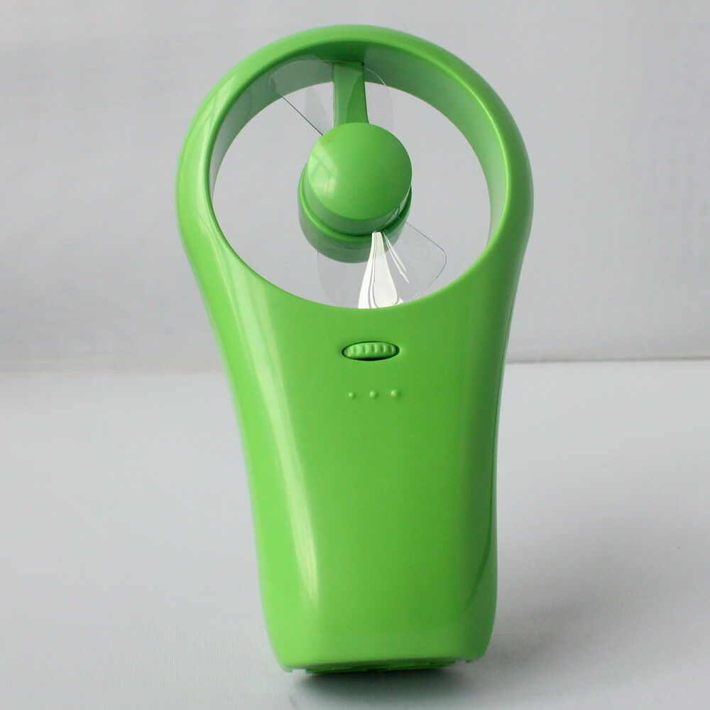 Hand Held Fans : Hand held mini super mute usb battery operated cooling fan
