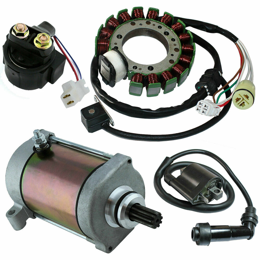 Stator Yamaha Grizzly 600 Yfm600 Starter Solenoid Ignition