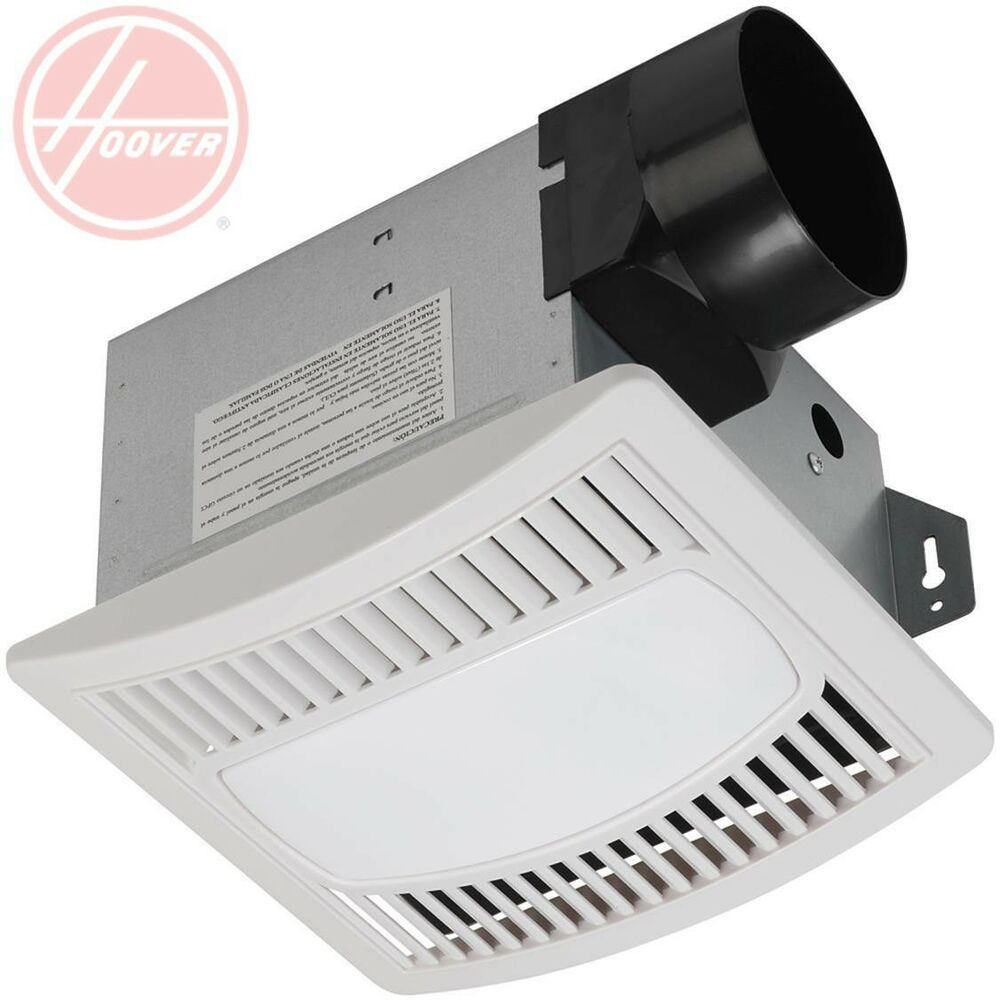 Bathroom Ceiling Ventilation Exhaust Fan W Light Includes