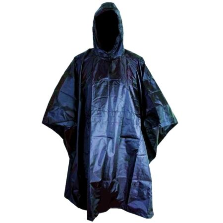 img-RIP-STOP WATERPROOF WINDPROOF PONCHO/BASHA navy blue military hooded coat jacket