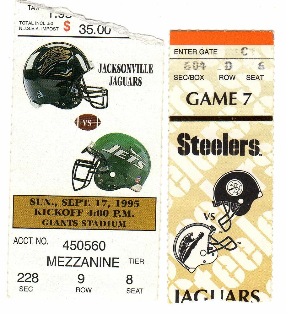 road game jacksonville jaguars new york jets ticket stub ebay. Cars Review. Best American Auto & Cars Review