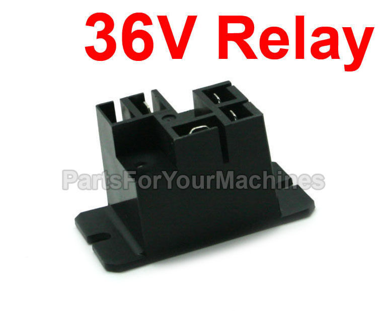 relay battery charger 30a 36v potter brumfield tyco. Black Bedroom Furniture Sets. Home Design Ideas