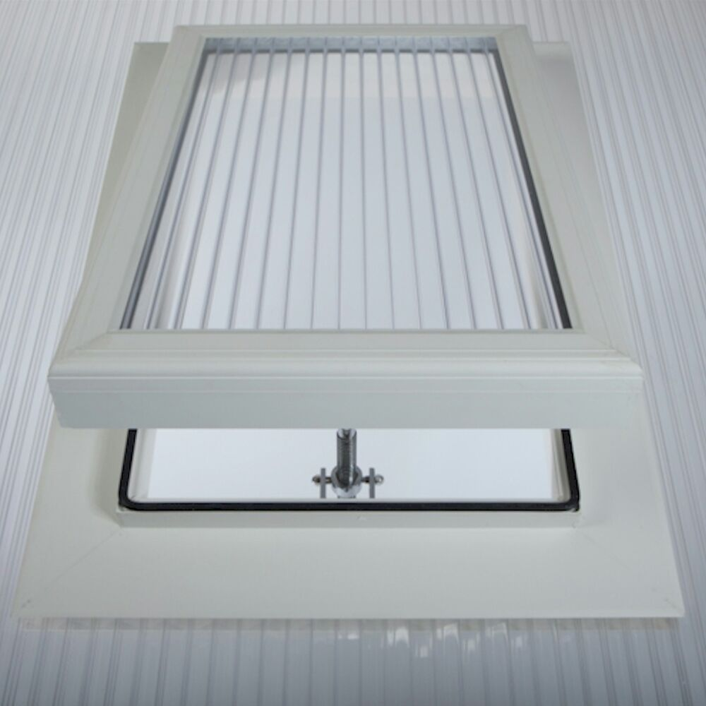 Conservatory Roof Vent For 25mm Polycarbonate Sheet With