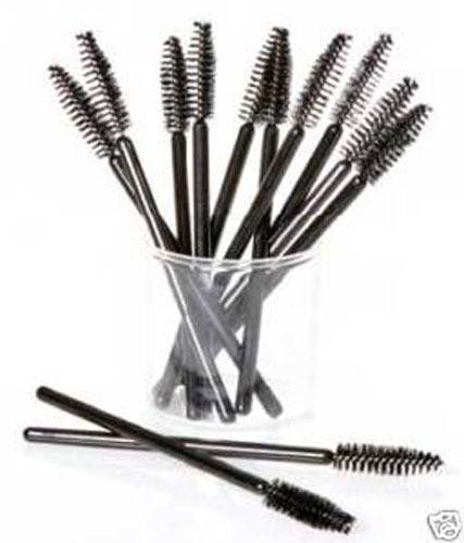 Eyelash disposable mascara wand brush spoolies x50 ebay for Mascara with comb wand
