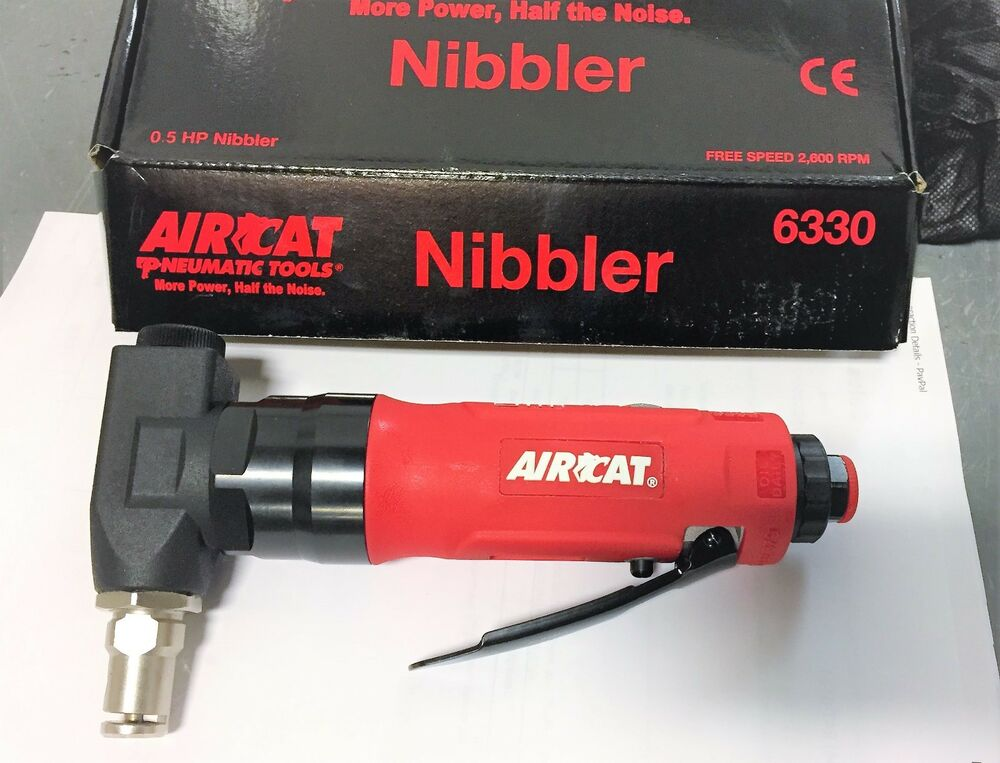 Pneumatic Nibbler Sheet Metal Cutting Tool New Ebay