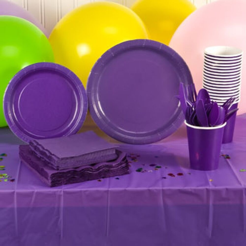 Paper Plates Napkins Cups Cutlery Party Ware Bbq Weddings Get Togethers Amp More Ebay