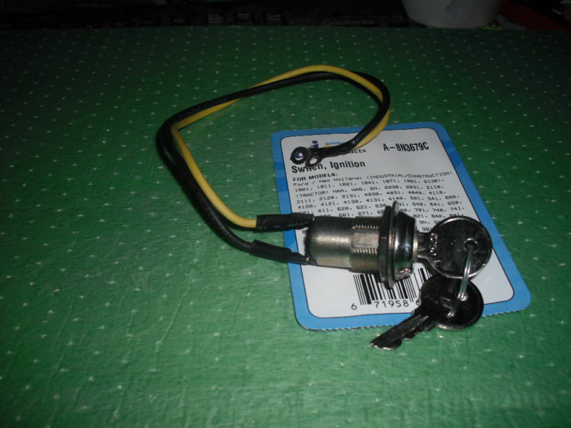 Ford 8n Switch : Ford tractor n naa ignition key switch ebay