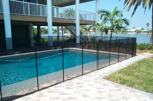 Swimming pool safety fence ebay