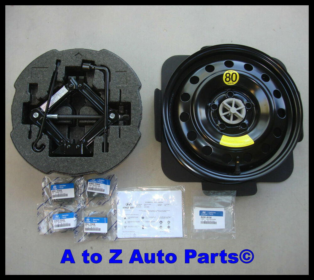 2012 Hyundai Spare Tire Kit Autos Post